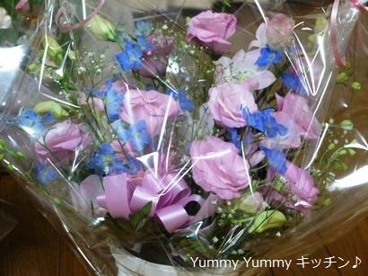 先生たちからのお花
