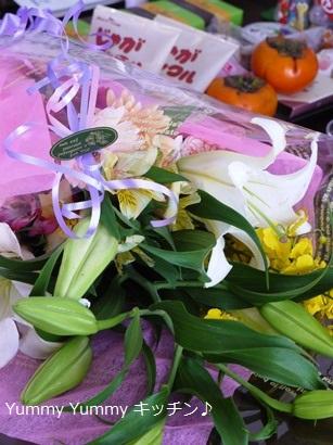 小松原さん&喜田さんからのお花
