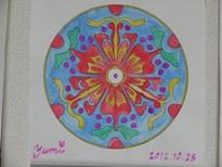 曼荼羅塗り絵 2