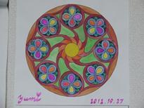 曼荼羅塗り絵1
