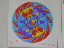 曼荼羅塗り絵 3