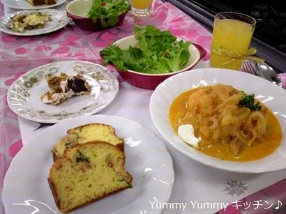 亥の子谷パーティクッキング 料理 ブログ用