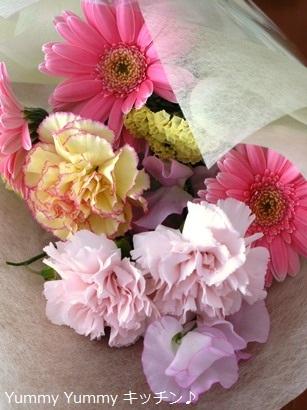担任の先生からのお花♪11月