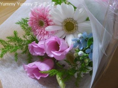 亥の子谷B次長からのお花