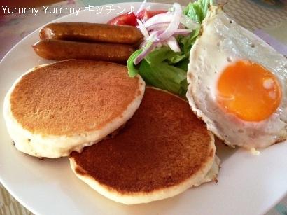 パンケーキ 朝食風横ブログ用