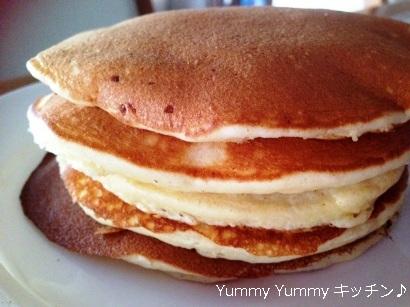 パンケーキ 甘い ブログ用