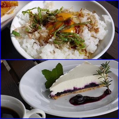 ソラノネ食堂のご飯とデザート