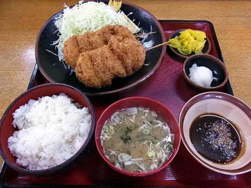 串かつ定食