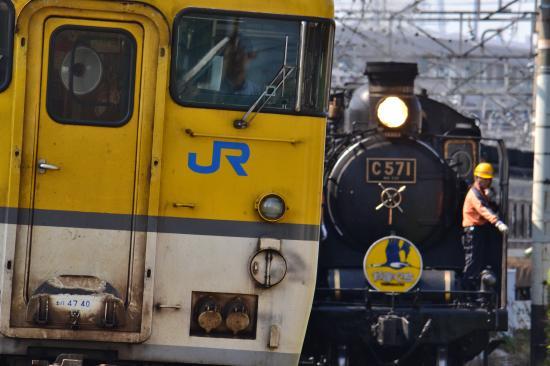 新山口駅・キハアップ