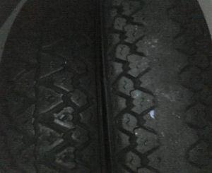 新旧タイヤ