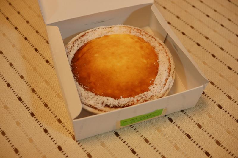 富良野デリスのチーズケーキ