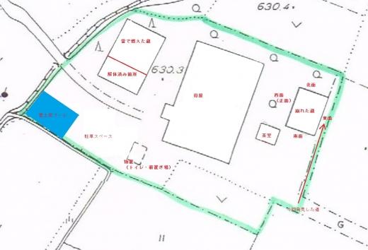 古民家の敷地7