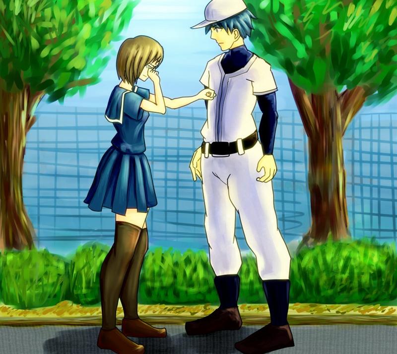 野球児と女子高生