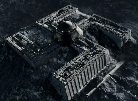 月面ナチスの秘密基地