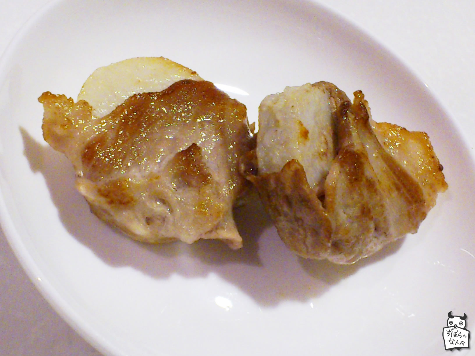 いも:里芋の肉巻き焼き