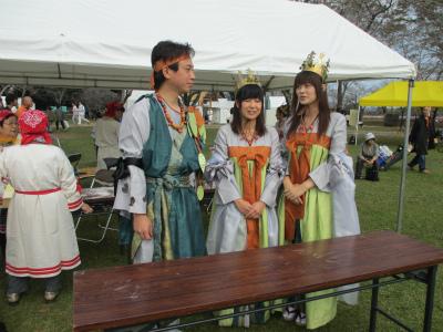 西都原古墳群 古代祭り
