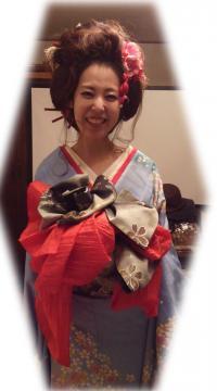 花魁 ヘアセット 日本髪