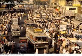 B 4 Karachi busy Market