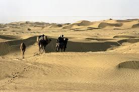 B 5 Baluchi desert