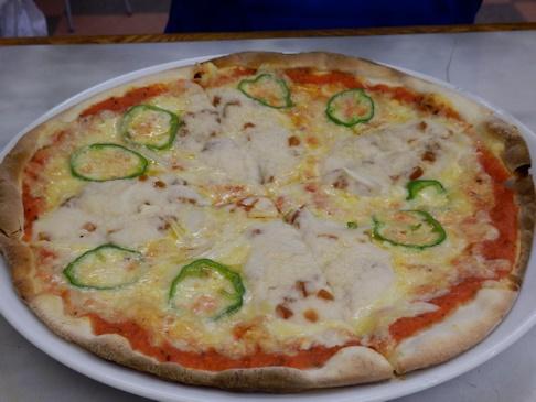 とろろ芋と味噌漬けのピザ