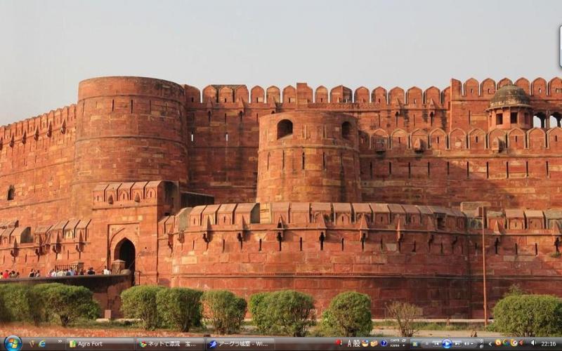アーグラ城塞 - インド 世界遺産...