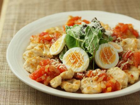 鶏むね肉のイタリアンハーブ焼き 、 スパイスブログ更新