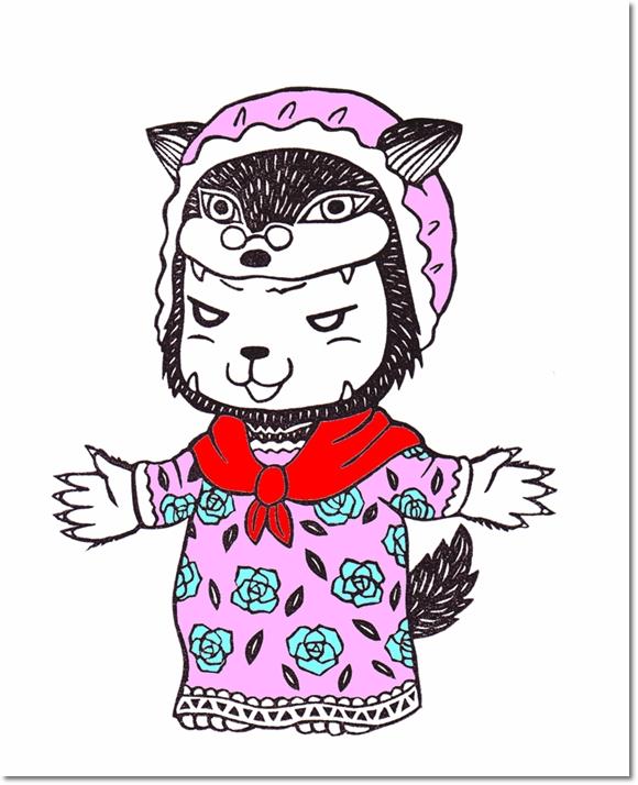 ハロウィンなりきり学芸会♪ オオカミメイ登場!の巻