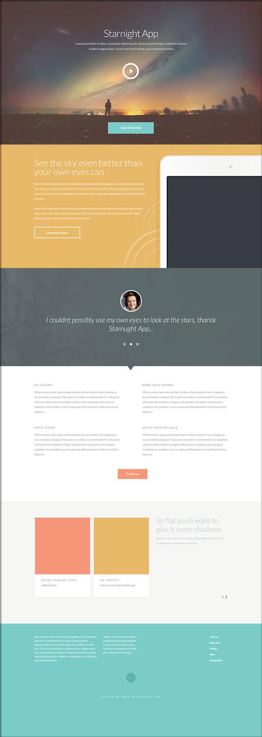 無料HTML5テンプレート03