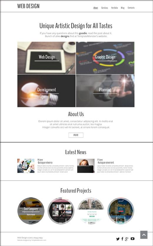 無料HTML5テンプレート06