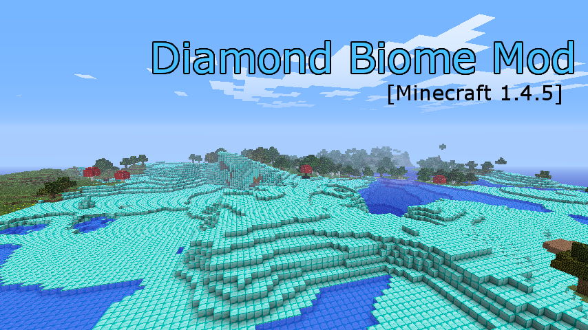 diamond biome mod-1