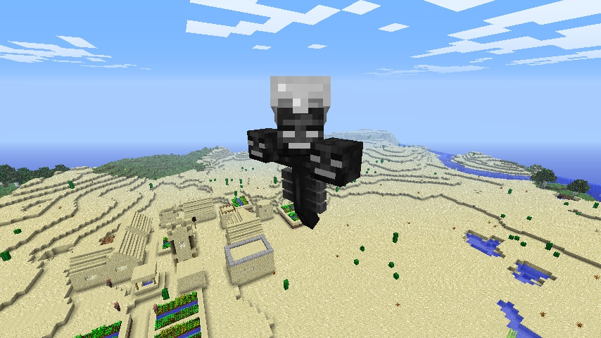 you are the wither mod-7