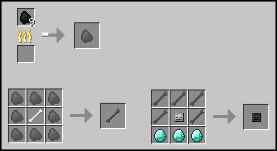 Craftable Mob Heads and Skulls-6