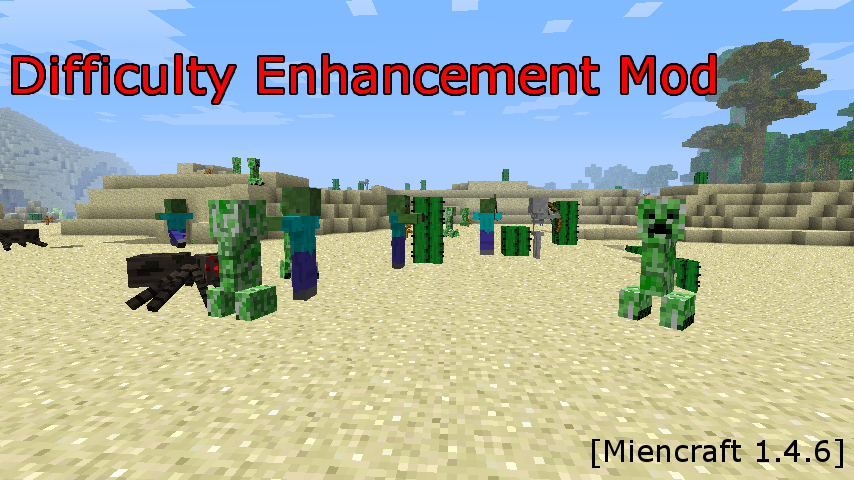 difficulty enhancement mod-1