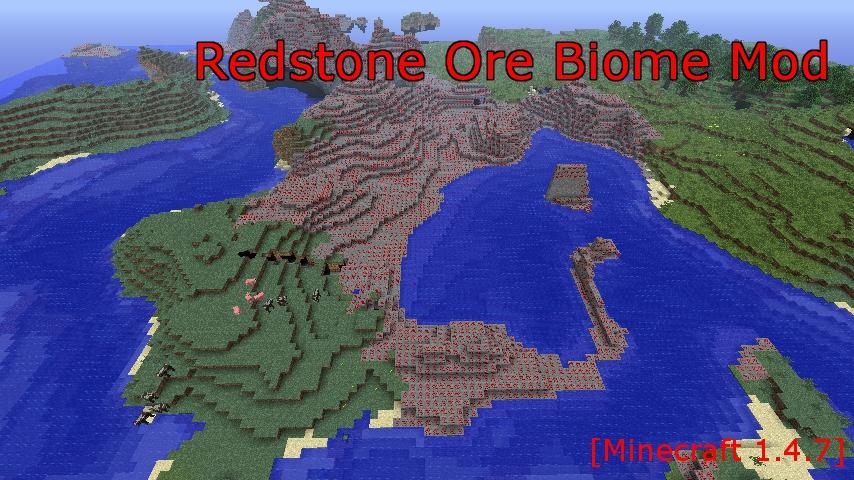 Redstone Ore Biome Mod-1