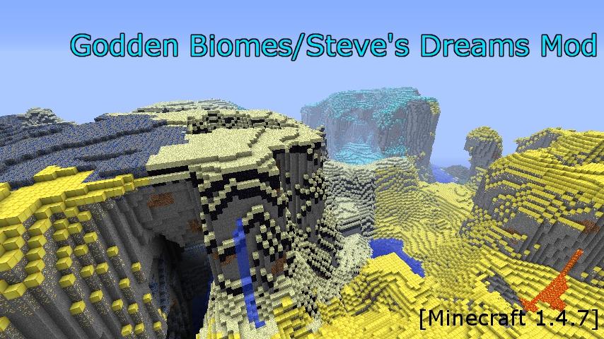 Godden Biomes Steves Dreams Mod-1