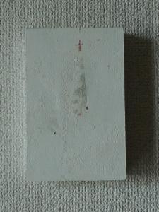 白い小さなアート