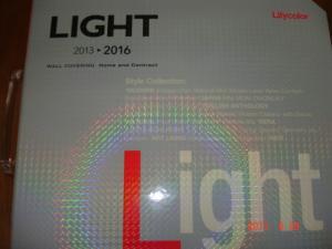 リリカラ 壁紙見本帳「2013 リリカラライト」