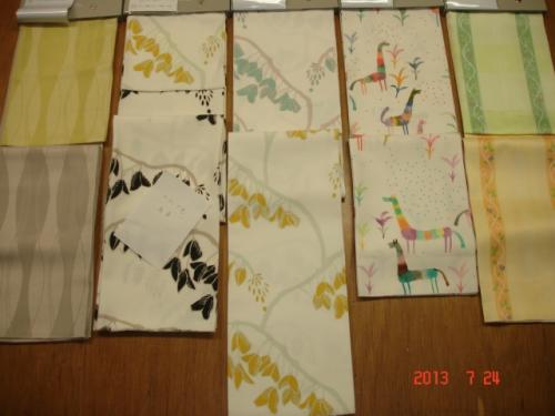 左からトパロン、スオミ(旧)、スオミ(新)、アルパカ、ニューピコラ