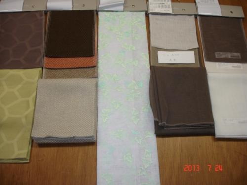 左からジラフ、ラルグス、AZ-3553、AZ-3575~3577