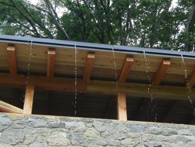 屋根の水抜き