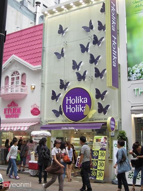 Holika_明洞2号店