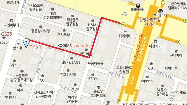 ISOI ロデオmap