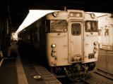 広島駅に停車する芸備線のキハ47系