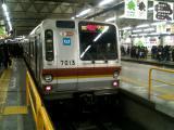 東横線渋谷駅 7013F