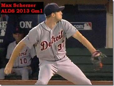 Scherzer ALDS 2013 gm 1