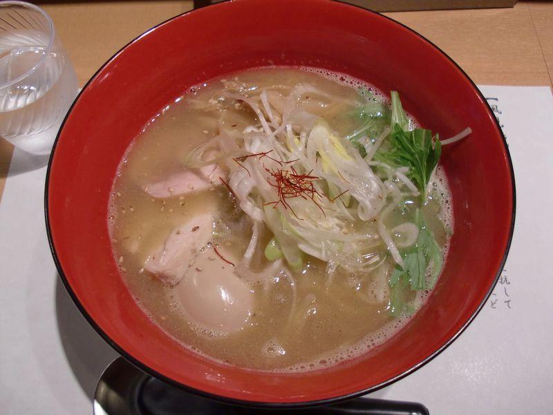 風見鶏@神保町・20121225・濃厚鶏そば