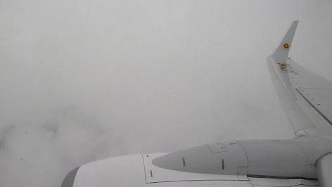 雲の中の飛行
