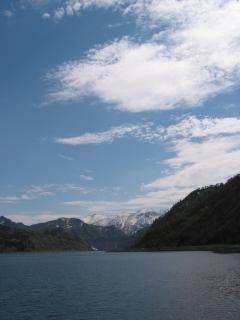 只見湖と田子倉ダム