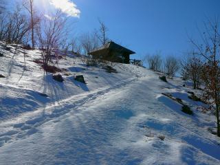 雪の朝 HDR