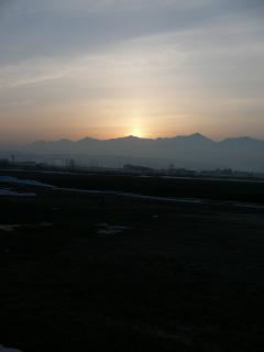 中富良野からの十勝岳